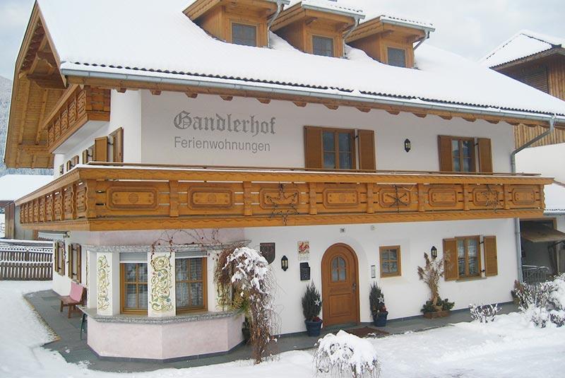 Winter at the Gandlerhof