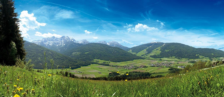 Summer in Valdaora - panoramic view