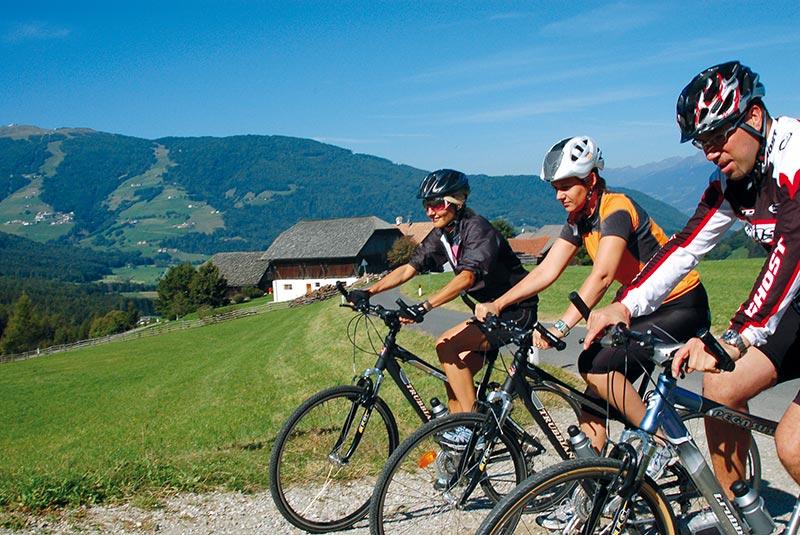 Mountain biking in Valdaora and surroundings