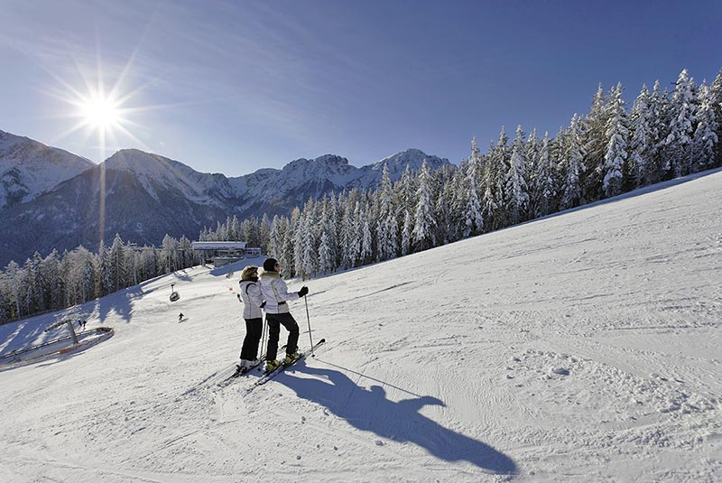 Skiing holidays at Plan de Corones
